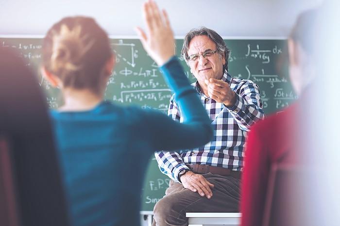 Bloc prof enseignant école