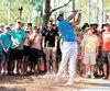 Tiger Woods a conclu la première ronde à égalité avec la normale.