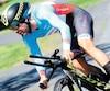 À 41ans, Svein Tuft, qui en est visiblement à son dernier Tour de Beauce, a tout donné pour finalement boucler l'épreuve du contre-la-montre au deuxième rang.