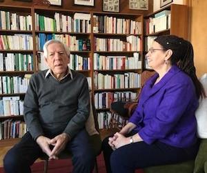 L'ex-ministre du gouvernement libéral Claude Castonguay a accordé une entrevue à notre chroniqueuse Fatima Houda-Pepin à Brossard, le 13 février dernier.