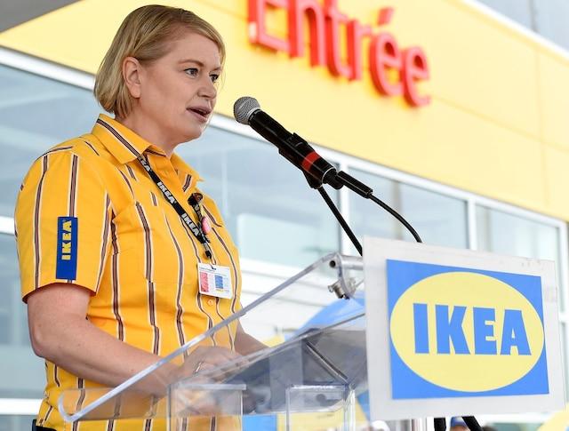 Ouverture du magasin IKEA de Quebec, mardi le 22 aout 2018. Annika Lenoir. STEVENS LEBLANC/JOURNAL DE QUEBEC/AGENCE QMI)