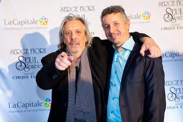 Serge Fiori et Jeannot Pinchaud