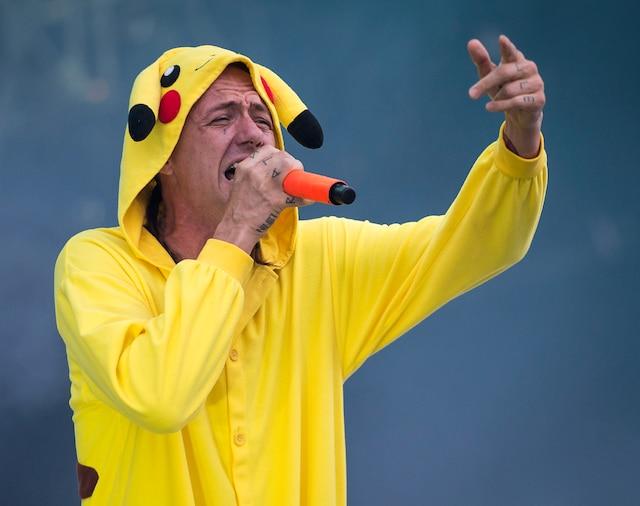 La formation sud-africaine Die Antwoord a livré un spectacle déjanté face à un public survolté.