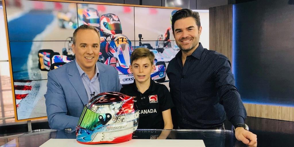 Justin Arseneau : premier canadien à participer au circuit de karting CIK Academy Trophy