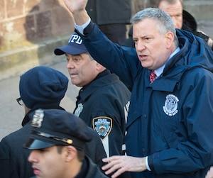 Le maire de New York, Bill de Blasio, s'est montré solidaire des citoyens de Québec.