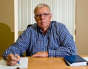 Guy Hébert, PDG de Ressources Strateco.