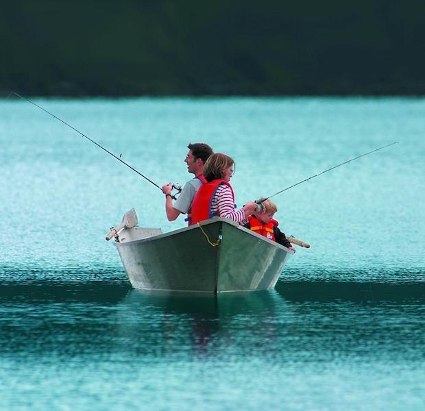 Comme faire le réseau sur la pêche