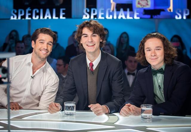 Joey Scarpellino, Louis-Philippe Beauchamp et  Raphaël Grenier-Benoît - Les Parent