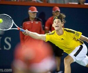 Même s'il a connu une fin de tournoi précoce à Montréal, Dominic Thiem fait partie de la génération montante du tennis.