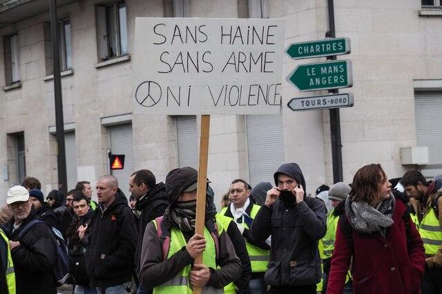 Des rassemblements de «gilets jaunes» ont lieu samedi pour une nouvelle journée de mobilisation à haut risque de ce mouvement inédit.