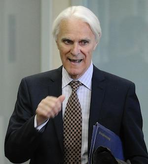 L'ex-juge Jacques Delisle.