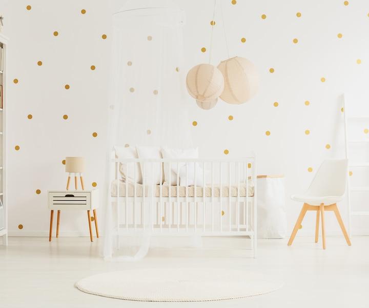 Décorez la chambre de bébé à petit budget