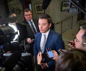 Le ministre de l'Immigration, Simon Jolin-Barrette