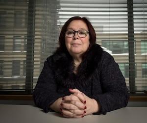 Madeleine Giauque, directrice du BEI.