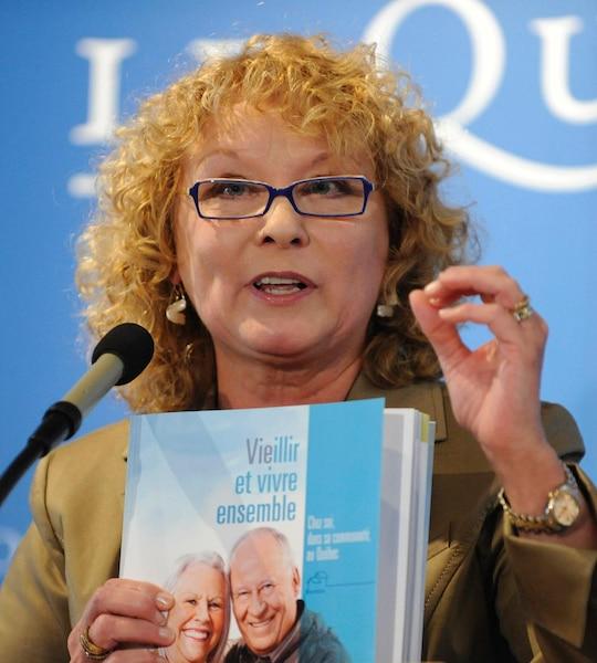 Pour la première fois, les Québécois ont une ministre en titre responsable des Proches aidants.
