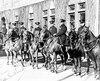Les policiers de la Ville de Québec patrouillaient à cheval en 1931.