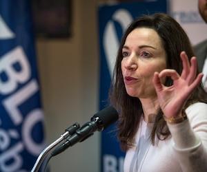 Martine Ouellet, chef du bloc québécois.