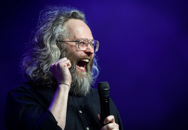 Un deuxieme one man show pour l humoriste Francois Bellefeuille presente a la salle Albert Rousseau a Quebec mercredi le 28 fevrier 2018. SIMON CLARK/JOURNAL DE QUEBEC/AGENCE QMI