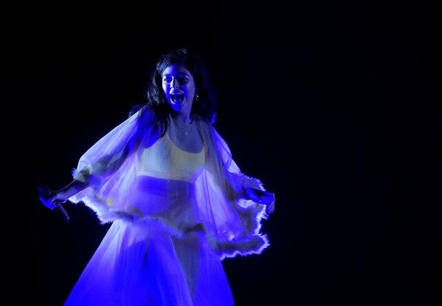 Lorde était la tête d'affiche du concert 100 % féminin présenté vendredi soir sur les plaines d'Abraham.