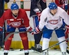 Tomas Plekanec et Brendan Gallagher