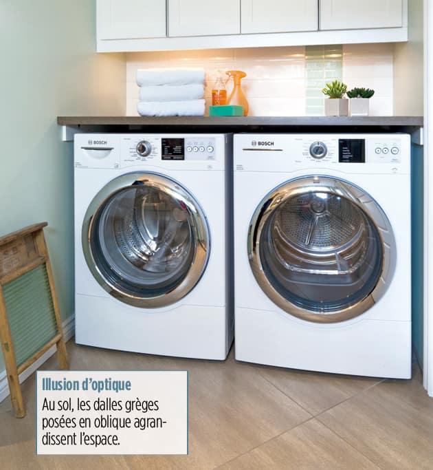 Quand laver n est plus une corv e le journal de montr al - Rangement au dessus des toilettes ...