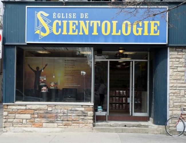 Devanture église scientologie, 4489 Avenue Papineau, Montreal