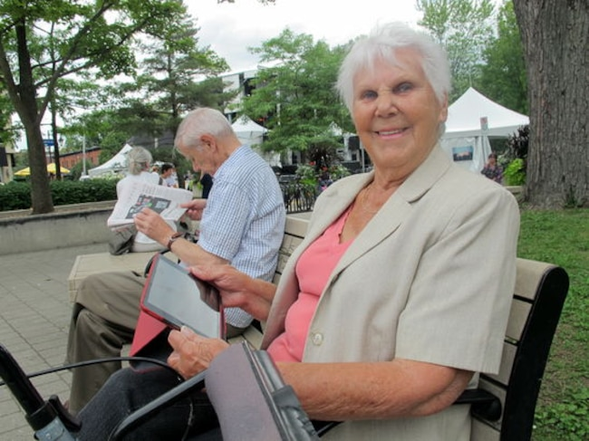 Yvette Provost, 85 ans