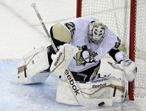 NHL: Stanley Cup Playoffs-Pittsburgh Penguins at New York Rangers