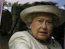 Britain's Queen Elizabeth leaves the annual Braemar Highland Gathering in Braemar, Scotland