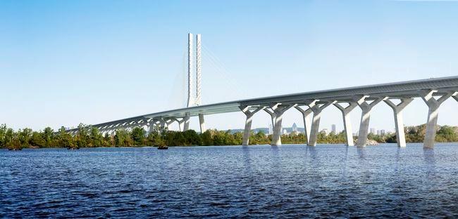 Estos serían los precios del peaje por el Puente C...