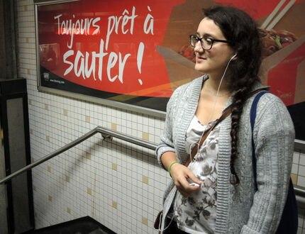 Publicité, Tiki-Ming, métro