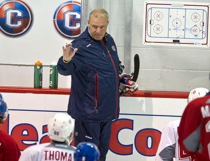 Camp des Canadiens 19 sept