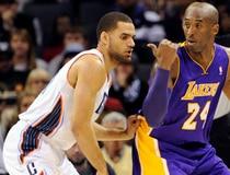 NBA: Los Angeles Lakers at Charlotte Bobcats