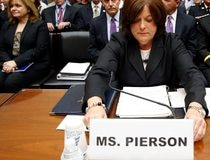 Secret Service Director Pierson testifes on Capitol Hill in Washington