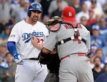 MLB: NLDS-St. Louis Cardinals at Los Angeles Dodgers