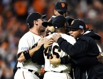 Division Series - Washington Nationals v San Francisco Giants - Game Four