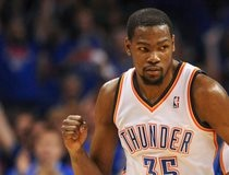 File photo of Oklahoma City Thunder forward Kevin Durant during game against Memphis Grizzlies at Oklahoma City Thunder