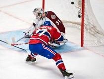 SPO-HOCKEY-AVALANCHE VS CANADIEN