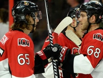 NHL: Columbus Blue Jackets at Ottawa Senators