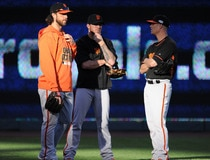 MLB: World Series-Practice Day