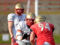 Danny Groulx, rouge et or, football