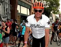 Lance Armstrong Rides In RAGBRAI