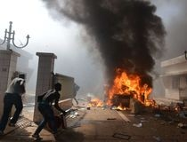BURKINA-POLITICS-PROTEST-PARLIAMENT