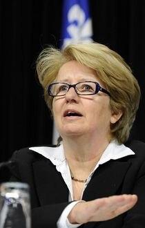 Quebec, Assemblee nationaleTentative de rapprochement de la ministre Maltais