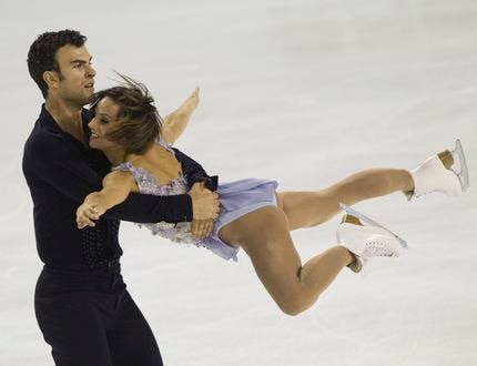 Canada's Meagan Duhamel and Eric Radford perform during the pairs short program during the 2014 Skate Canada International in Kelowna.