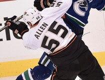 Vancouver Canucks VS Anaheim Ducks'