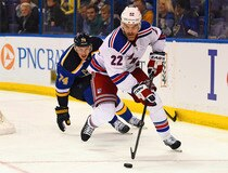 NHL: New York Rangers at St. Louis Blues