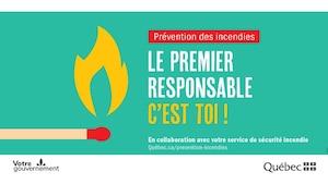 Image principale de l'article La Semaine de la prévention des incendies