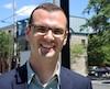 Le porte-parole d'Uber Canada, Jean-Christophe de Le Rue