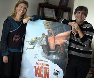 Les coréalisateurs Pierre Greco et Nancy Florence Savard se lancent à la conquête du monde avec leur nouveau bébé.